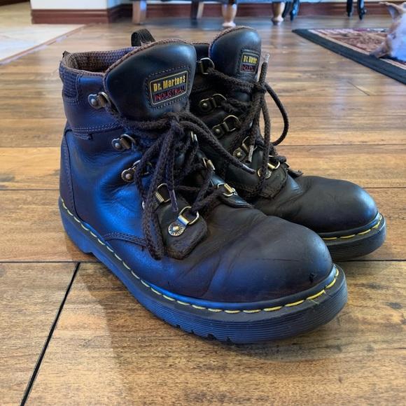 nuovo elenco 100% originale colori delicati Dr. Martens Shoes | Dr Martens Holkham Ns Industrial Work Boots ...